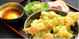 海鮮天丼 温玉ソース